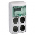 13179 Щит KAEDRA IP65 8мод. + 4отв., Schneider Electric